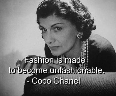 Coco Chanel Quote 6 Picture Quote #1