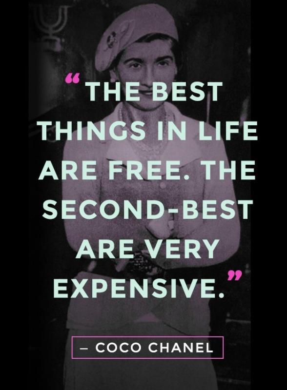 Coco Chanel Quote 7 Picture Quote #2