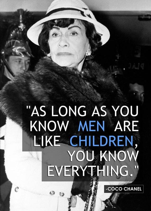 Coco Chanel Quote 9 Picture Quote #1