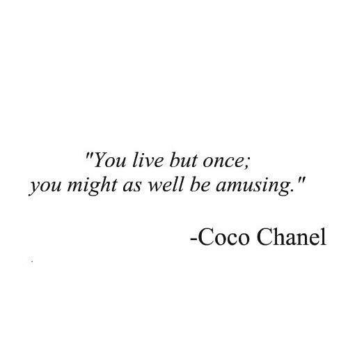 Coco Chanel Quote 12 Picture Quote #1