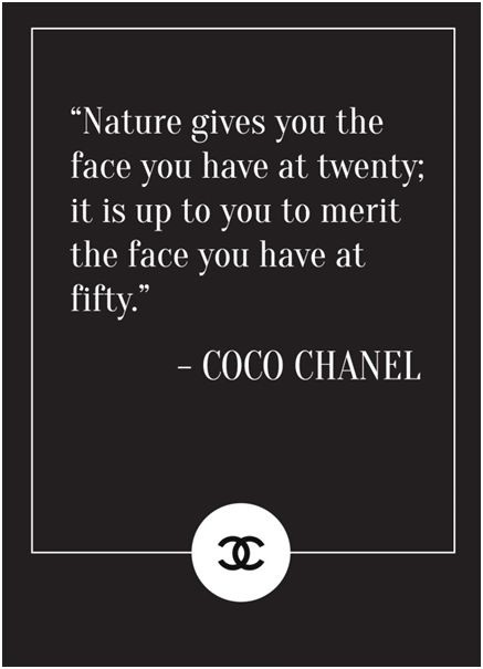 Coco Chanel Quote About Beauty 1 Picture Quote #1
