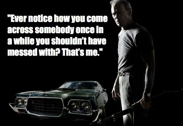 Clint Eastwood Quote 1 Picture Quote #1