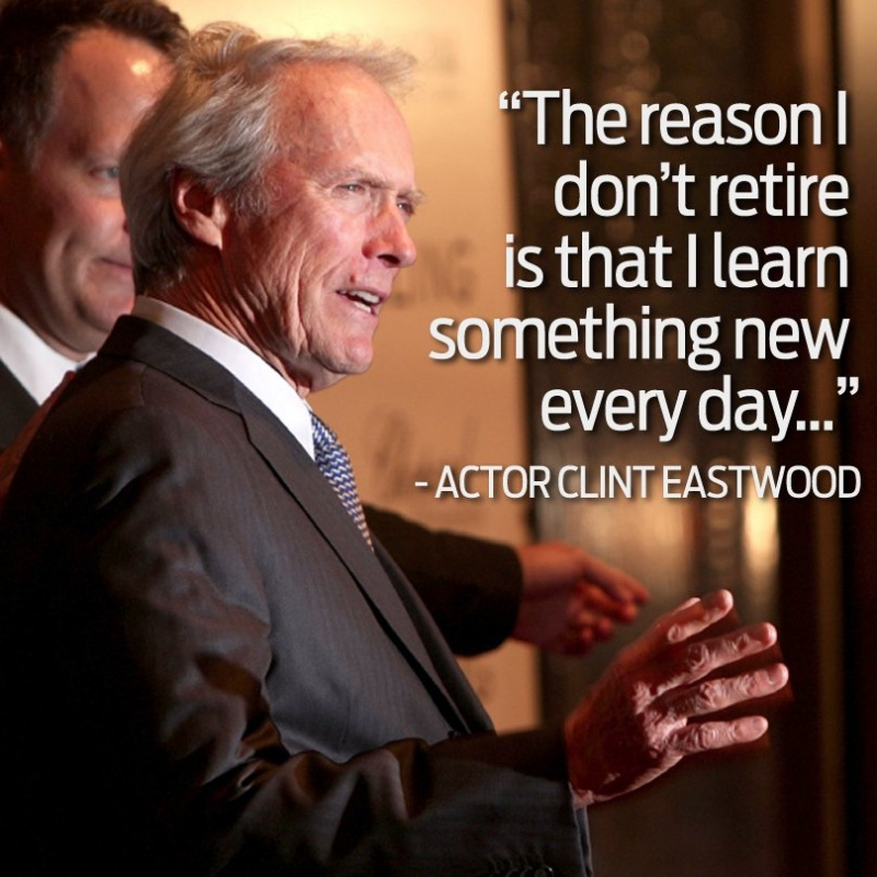 Clint Eastwood Quote 5 Picture Quote #1