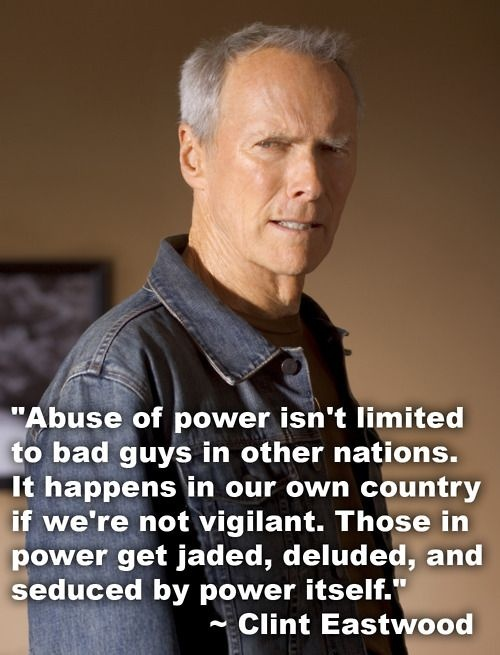 Clint Eastwood Quote 6 Picture Quote #1