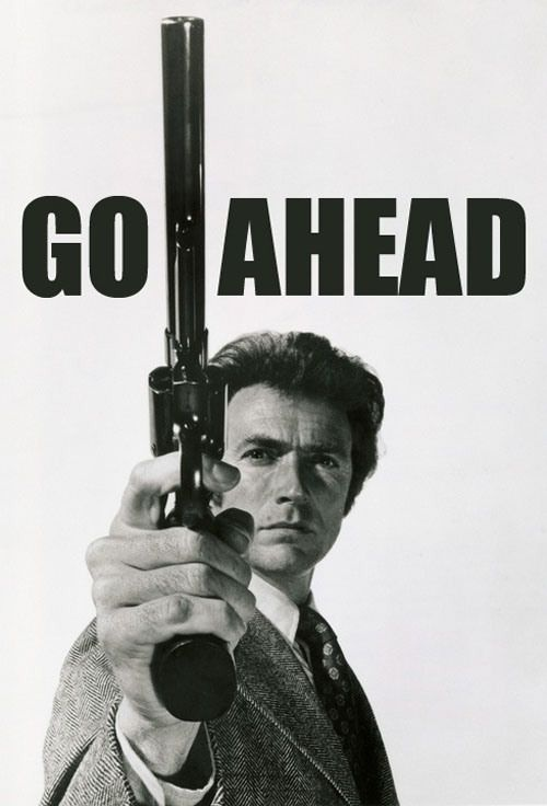 Clint Eastwood Dirty Harry Quote 1 Picture Quote #1