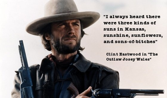 Clint Eastwood Western Quote 1 Picture Quote #1