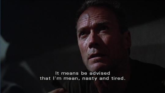 Clint Eastwood Heartbreak Ridge Quote 2 Picture Quote #1
