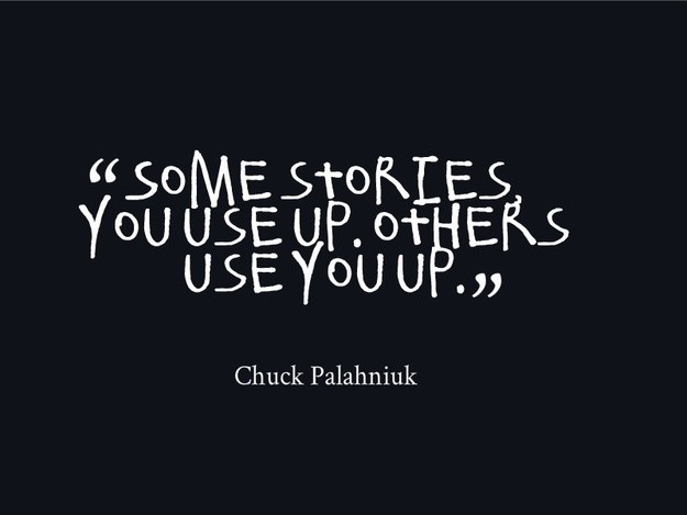 Chuck Palahniuk Quote 5 Picture Quote #1