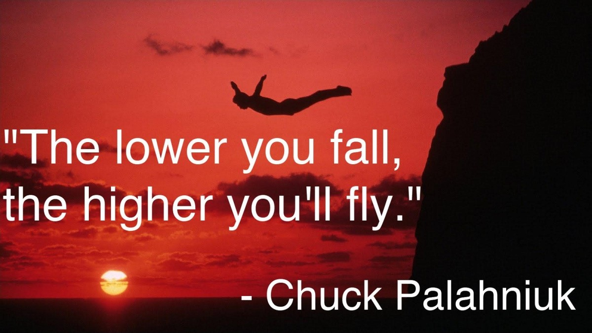 Choke Chuck Palahniuk Quote 1 Picture Quote #1