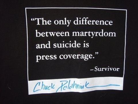 Chuck Palahniuk Quote 19 Picture Quote #1