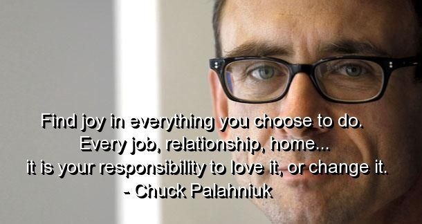 Chuck Palahniuk Quote 20 Picture Quote #1
