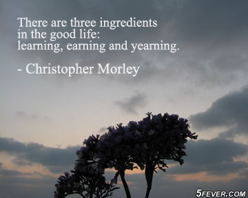 Christopher Morley Quote 3 Picture Quote #1