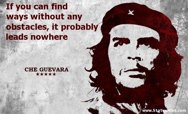 Che Guevara Quote 11 Picture Quote #1