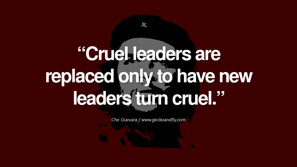 Che Guevara Quote 16 Picture Quote #1
