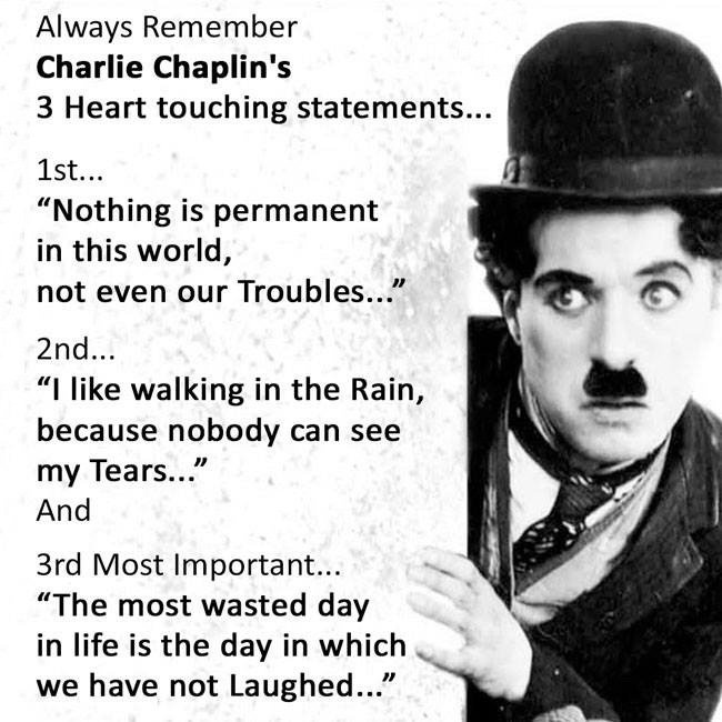 Famous Quotes By Charlie Chaplin: Charlie Chaplin Quotes & Sayings (213 Quotations