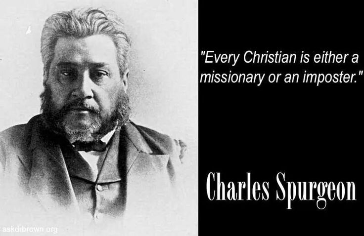 Charles Spurgeon Quote 8 Picture Quote #1