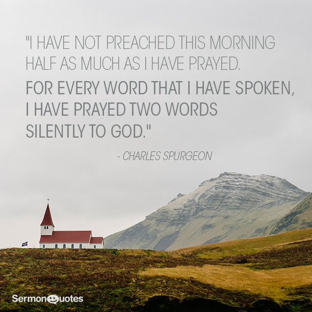 Charles Spurgeon Prayer Quote 3 Picture Quote #1
