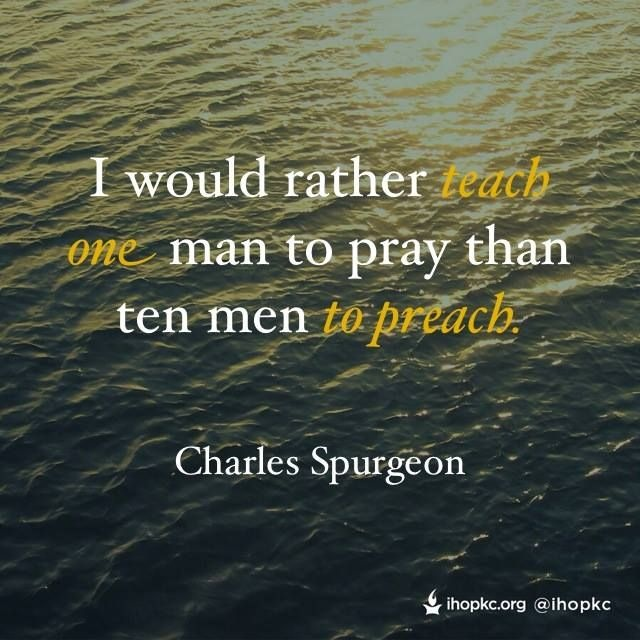 Charles Spurgeon Prayer Quote 8 Picture Quote #1