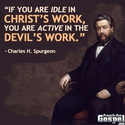 Charles Spurgeon Quote 19 Picture Quote #1