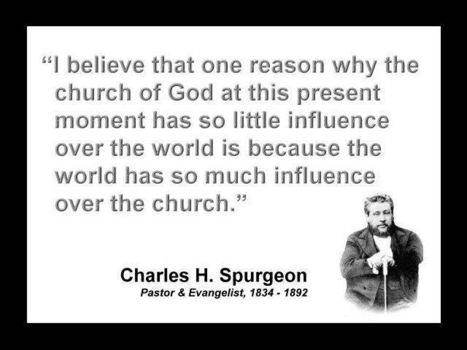 Charles Spurgeon Quote On The Church 1 Picture Quote #1