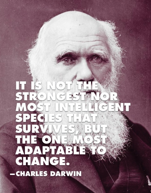 Charles Darwin Quote 1 Picture Quote #2