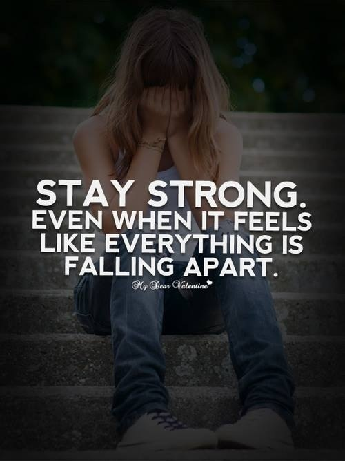 Stay Strong Quote 2 Picture Quote #1