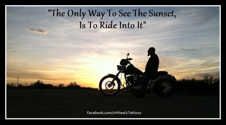 Riding Into The Sunset Quote 1 Picture Quote #1