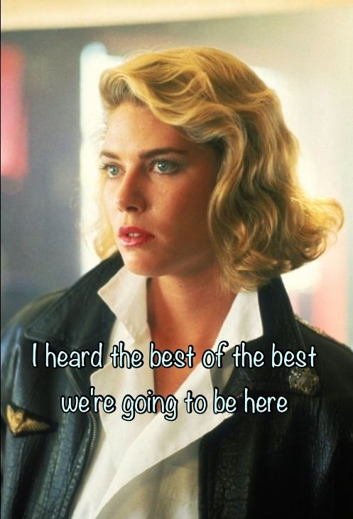 Kelly Mcgillis Top Gun Quote 1 Picture Quote #1