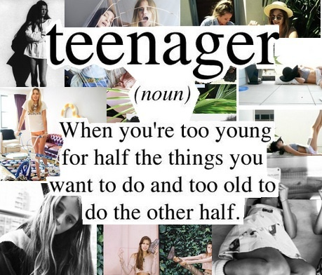 Teenage Quote 2 Picture Quote #1