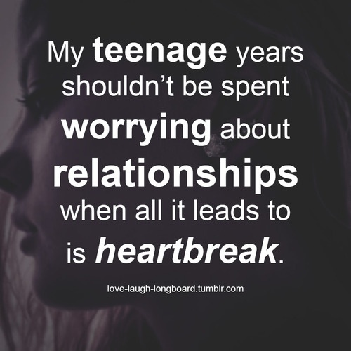 Teenage Quote 8 Picture Quote #1