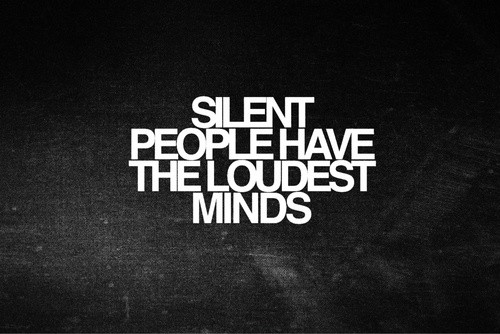 Silence Quote 1 Picture Quote #1