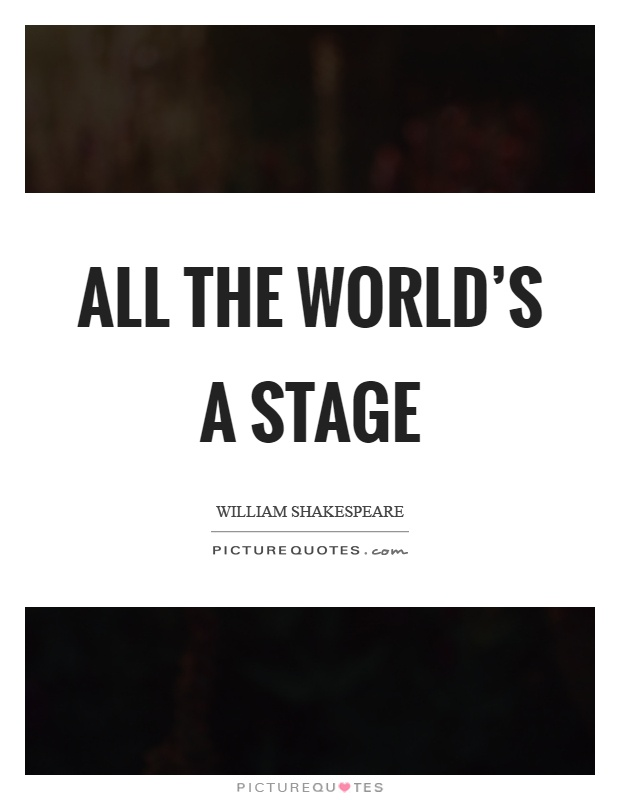all the worlds a stage Happy to share the secrets of stage hypnosis, chris shows you the behind the  scenes work for hypnotizing the masses.