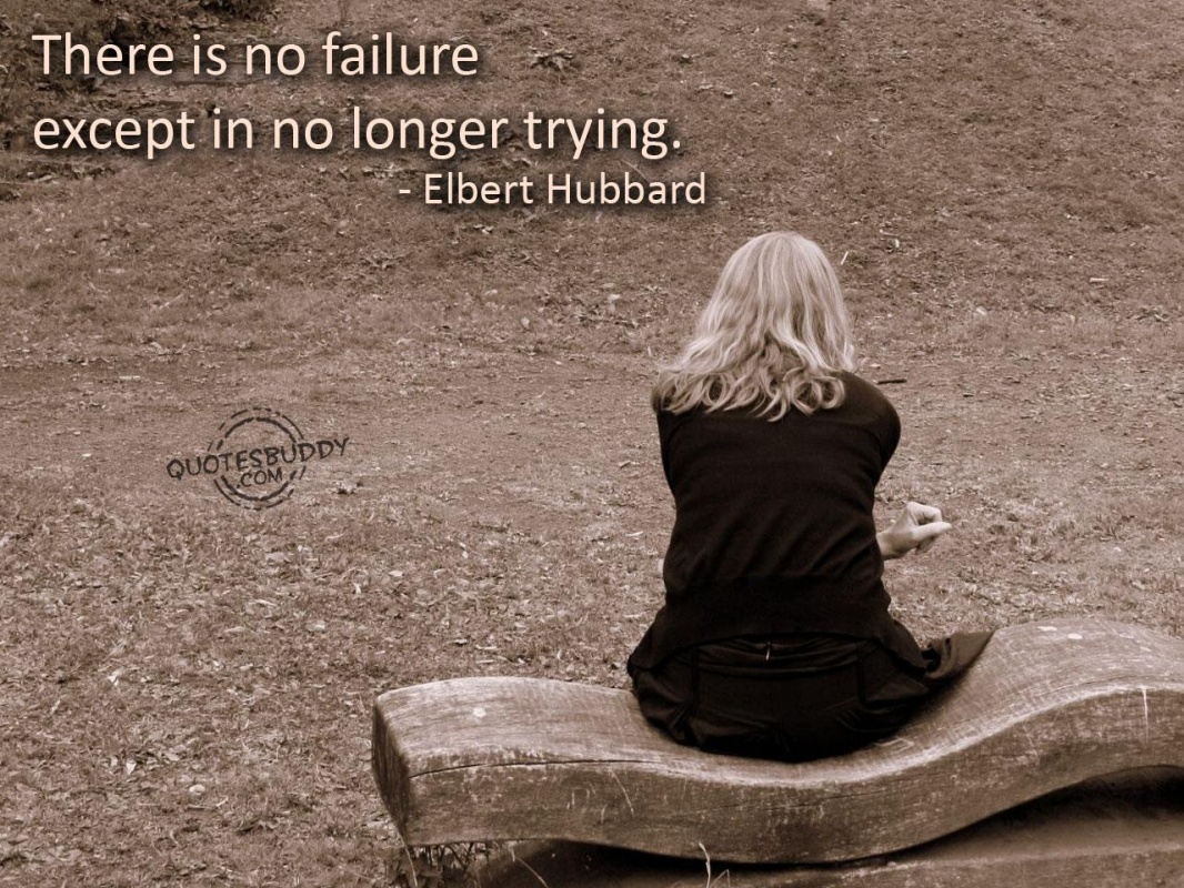 Failure Quote 1 Picture Quote #1