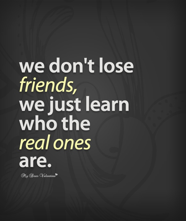 Sad Friendship Quote 2 Picture Quote #1
