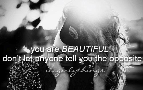 Beautiful Girl Quote 5 Picture Quote #1