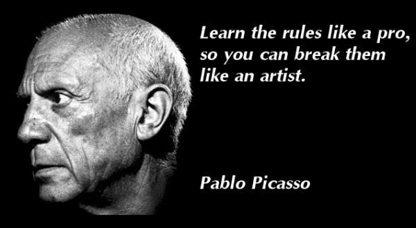 Pablo Picasso Quote 1 Picture Quote #1