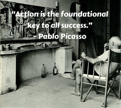 Pablo Picasso Quote 2 Picture Quote #1
