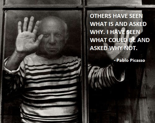 Pablo Picasso Quote 4 Picture Quote #1