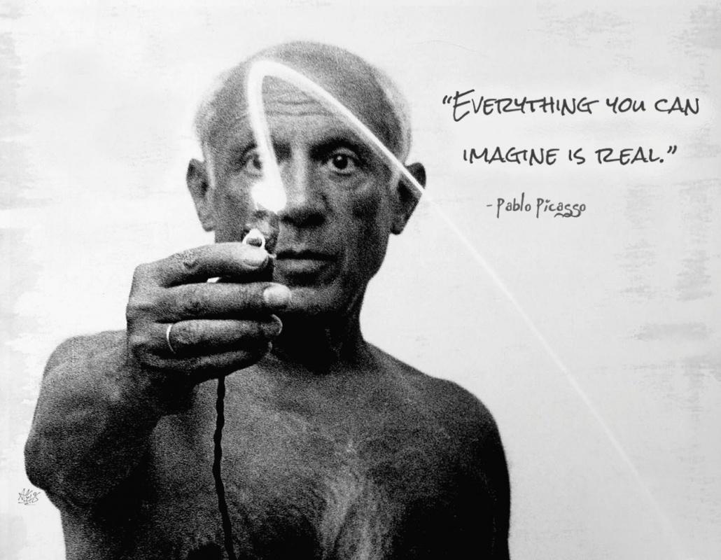 Pablo Picasso Quote 6 Picture Quote #1