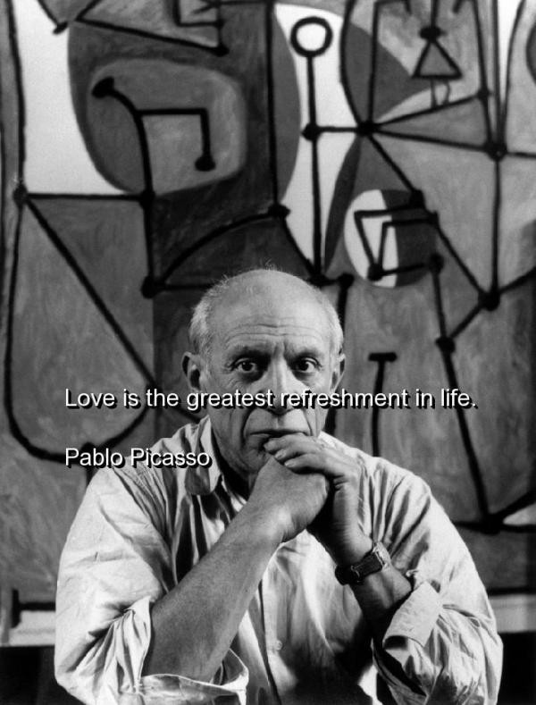 Pablo Picasso Quote 7 Picture Quote #1