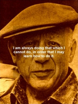 Pablo Picasso Quote 9 Picture Quote #1