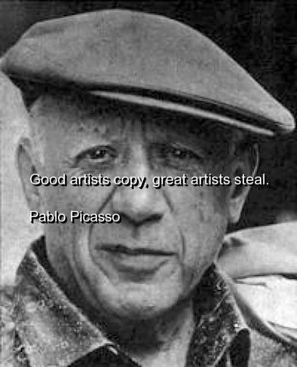 Pablo Picasso Quote 11 Picture Quote #1