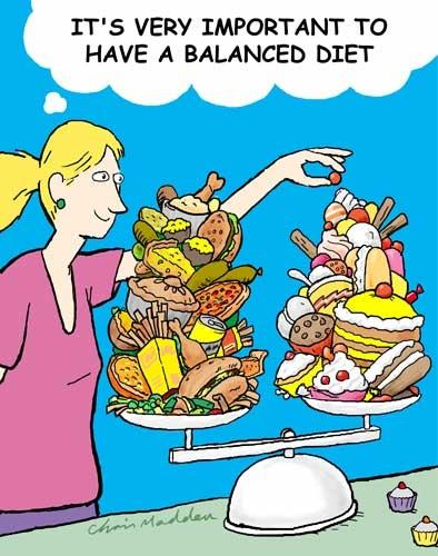 Balanced Diet Quote 1 Picture Quote #1