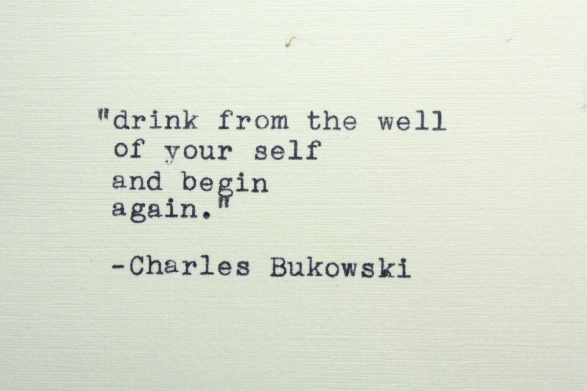 Charles Bukowski Quote 2 Picture Quote #1