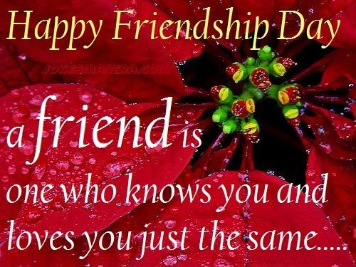 Friendship Day Quote 1 Picture Quote #1
