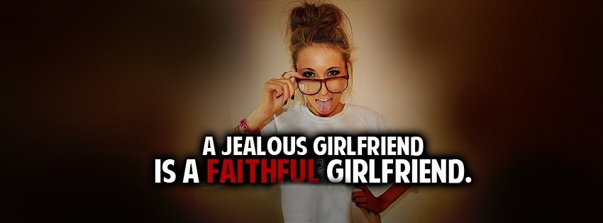 Jealous Quote For Facebook 1 Picture Quote #1