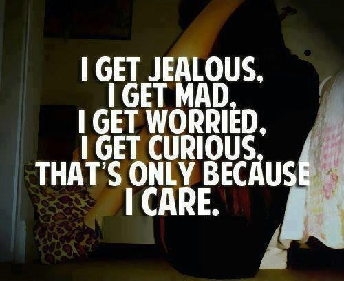 Jealous Quote 1 Picture Quote #1