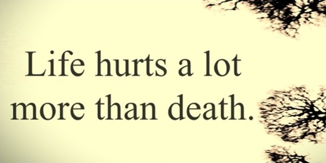 Sad Quote Fascinating Sad Quote About Life  Quote Number 592683  Picture Quotes