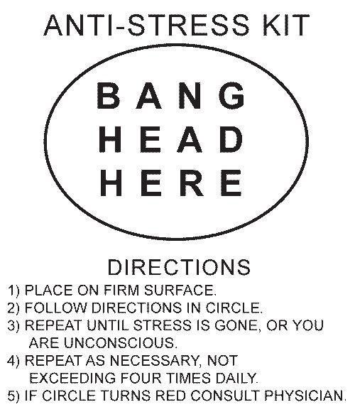 Anti Stress Quote 1 Picture Quote #1