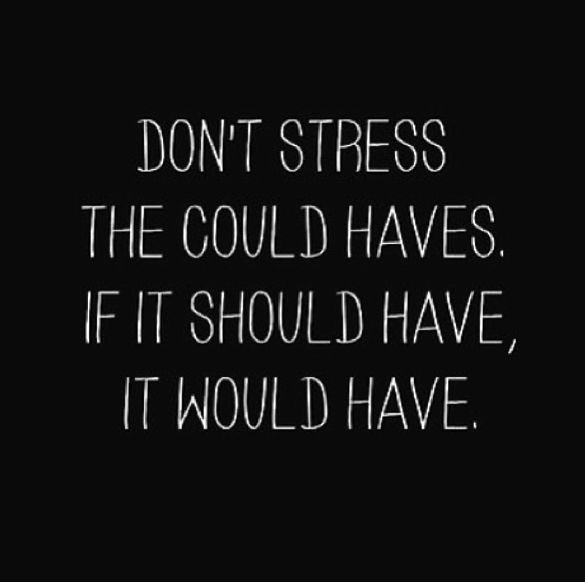 Dont Stress Quote To Live By 1 Picture Quote #1